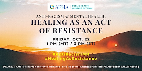 Anti-Racism & Mental Health: Healing as an Act of Resistance tickets