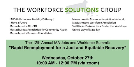 12th Annual MA Jobs and Workforce Summit tickets