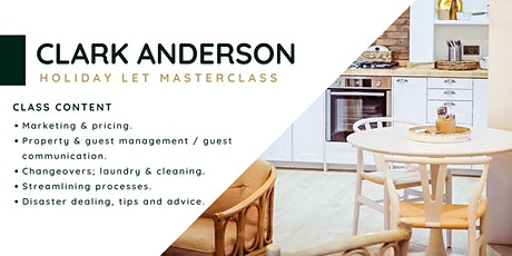 Holiday Let Masterclass tickets