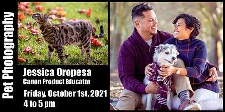 Pet Photography with Canon - Virtual Class tickets