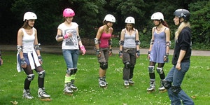 Learn to skate - Adult Beginner Group Skating Course (...