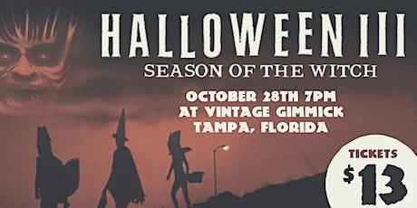 Camp Cult Cinema Club Presents: Halloween III tickets