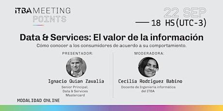 Data & Services: El valor de la información boletos