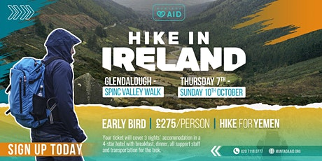 Hike in Ireland tickets