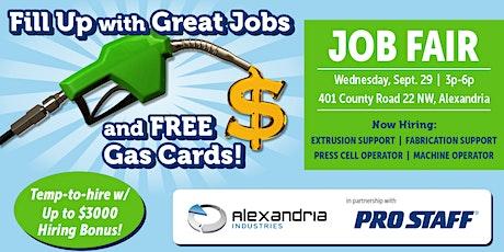 Job Fair at Alexandria Industries tickets
