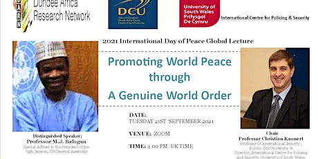 Promoting World Peace through A Genuine World Order tickets