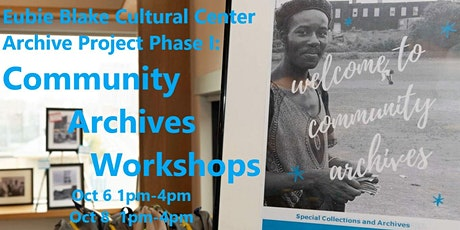 Community Archives Workshops tickets