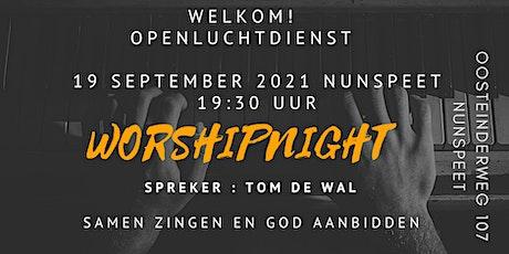 Worshipnight 19 september & Tom de Wal tickets