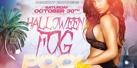 """Djakout Brothers """"HALLOWEEN POOL PARTY"""" tickets"""
