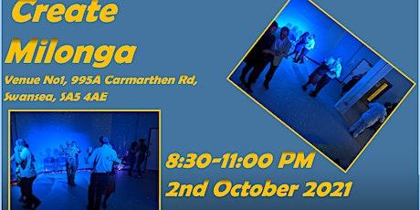 Create Milonga: Milonga in Venue No. 1 Swansea (In Person) tickets