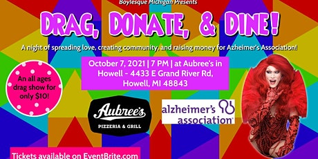 Drag, Donate, & Dine tickets