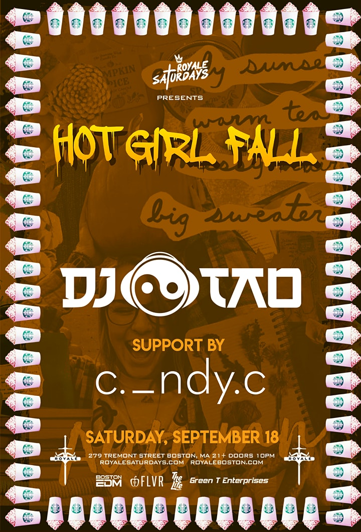 Hot Girl Fall | Royale Saturdays | 9.18.21 | 10:00 image