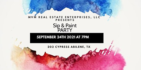 Sip And Paint Party tickets