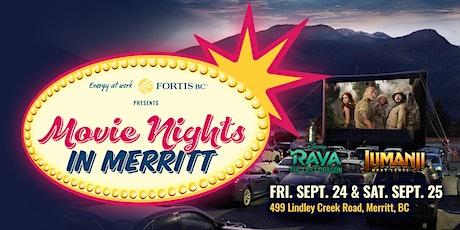 FortisBC Pres: Movie Nights Merritt-Jumanji: Level 09/25 tickets
