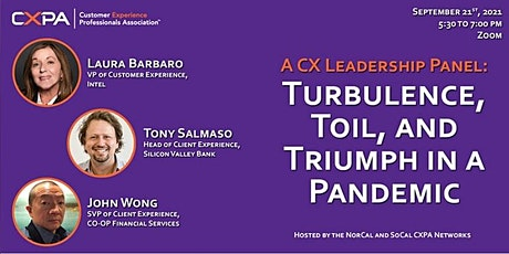 CXPA Panel: Toil, Turbulence, and Triumph in a Pandemic tickets