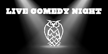 Night Shift Brewing Comedy Night tickets