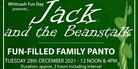 Jack and the Beanstalk 4pm Performance tickets
