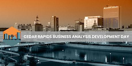 Cedar Rapids Business Analysis Development Day 2021 tickets
