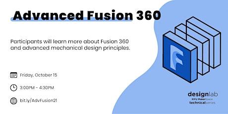 Advanced Fusion 360 tickets