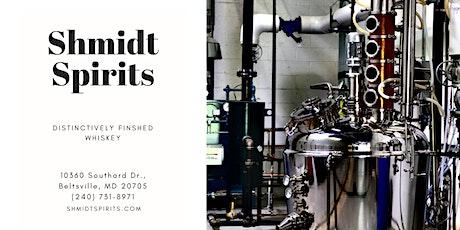 Installation/Distillation - Art & Whiskey @ Shmidt Spirits Distillery tickets