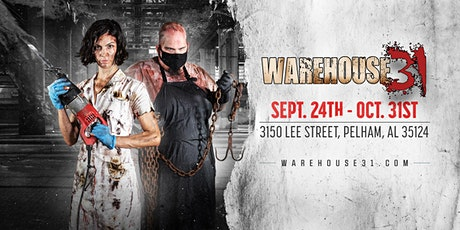 Haunted House - Warehouse31 - 10/02/21 tickets