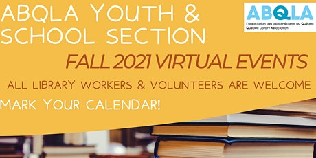 ABQLA Section Jeunesse & bibliotheques scolaires / Youth & School Libraries tickets