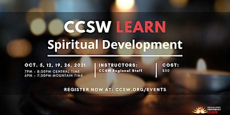 CCSW Learn: Spiritual Development tickets