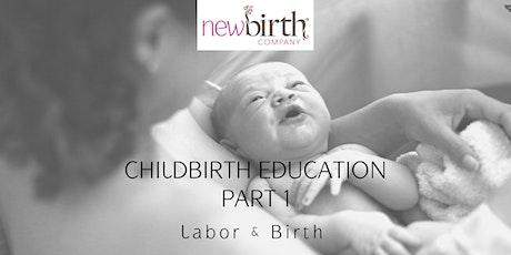 Childbirth Education Part 1 tickets