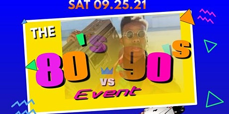 80s VS 90s tickets