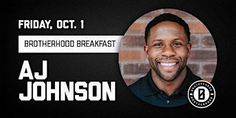 COTM Brotherhood  Breakfast with AJ Johnson tickets