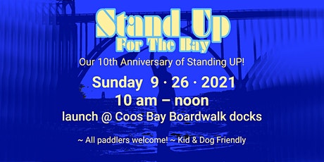 Stand UP For the Bay – Community Paddle tickets