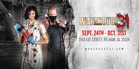 Haunted House - Warehouse31 - 10/09/21 tickets