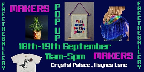 Fantastic Local Makers Pop up market Crystal Palace tickets