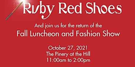 Woman's Club of Colorado Springs Fall Luncheon and Fashion Show October 27 tickets