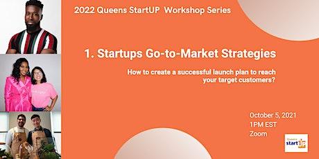 Startup Go-to-Market Strategies tickets