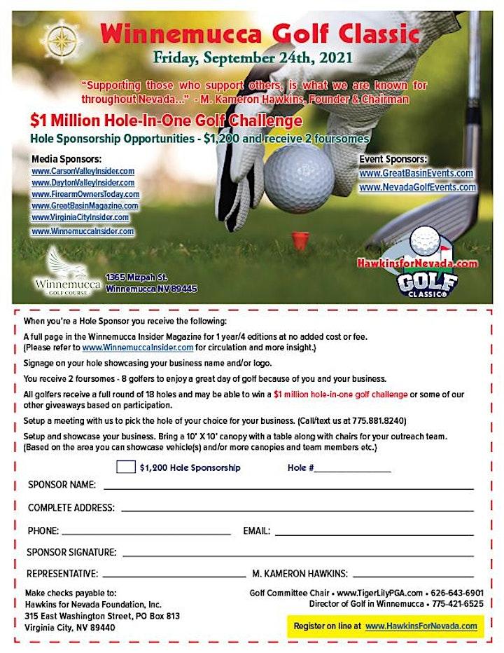 Winnemucca Golf Classic Sept 24th, 2021 image