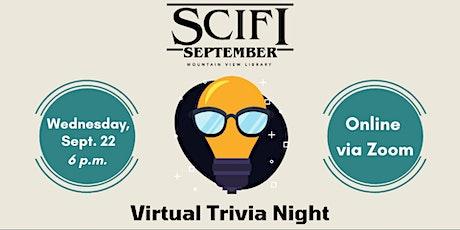 Sci-Fi September: Virtual Trivia Night tickets