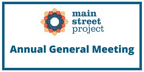 Main Street Project Annual General Meeting tickets