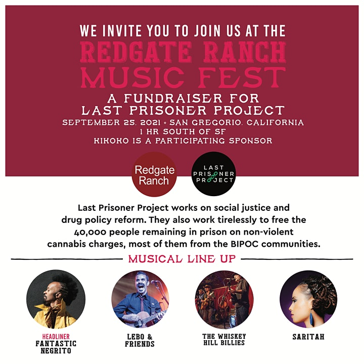 Redgate Ranch Music Festival  :  A Fundraiser for The Last Prisoner Project image