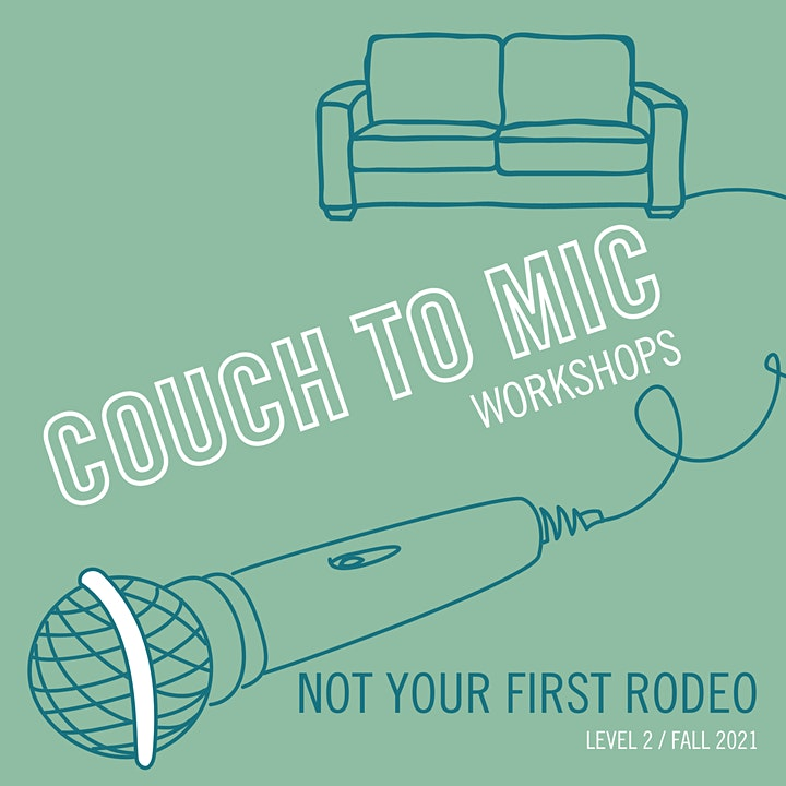 Couch to Mic: Not Your First Rodeo - Adult Comedy Performance Training image