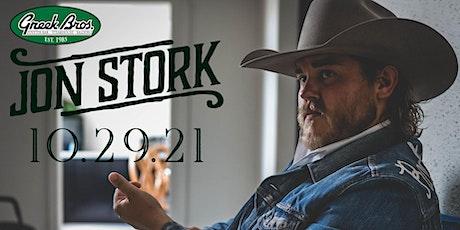 Jon Stork tickets