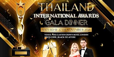 THAILAND INTERNATIONAL AWARDS tickets