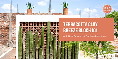 Terracotta Clay Breeze Block 101 with Clay Imports tickets
