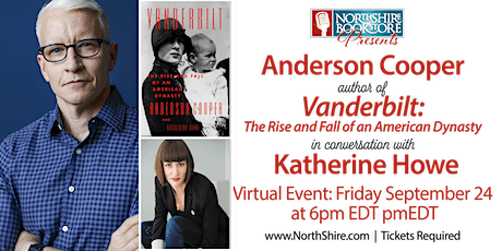 """Anderson Cooper """"Vanderbilt: The Rise and Fall of an American Dynasty"""" tickets"""