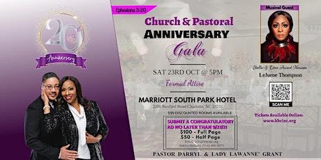 Kingdom Builders Church International 20th Church & Pastor Anniversary Gala tickets