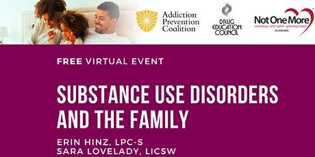Substance Use Disorders and The Family tickets