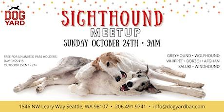 Sighthound Meetup at the Dog Yard in Ballard tickets