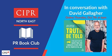 CIPR North East PR Book Club - Truth Be Told tickets