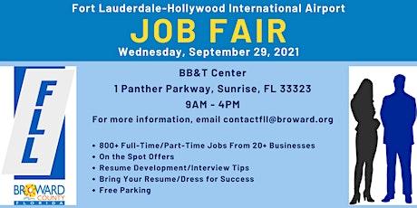 Fort Lauderdale-Hollywood International Airport Job Fair tickets