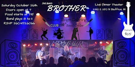 The Band Brother - Dinner Theater tickets